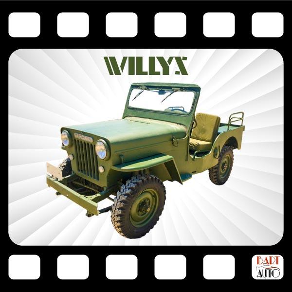 Jeep Willys para películas fotograma