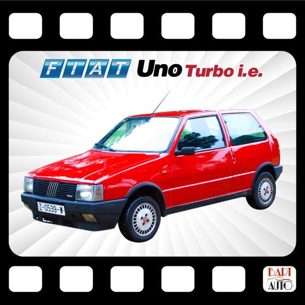 Fiat Uno Turbo para películas fotograma