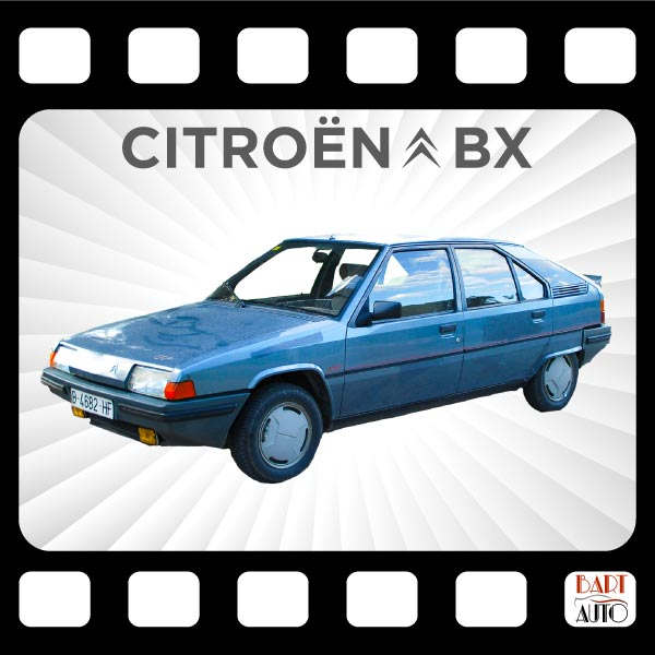 Citroën BX para películas fotograma