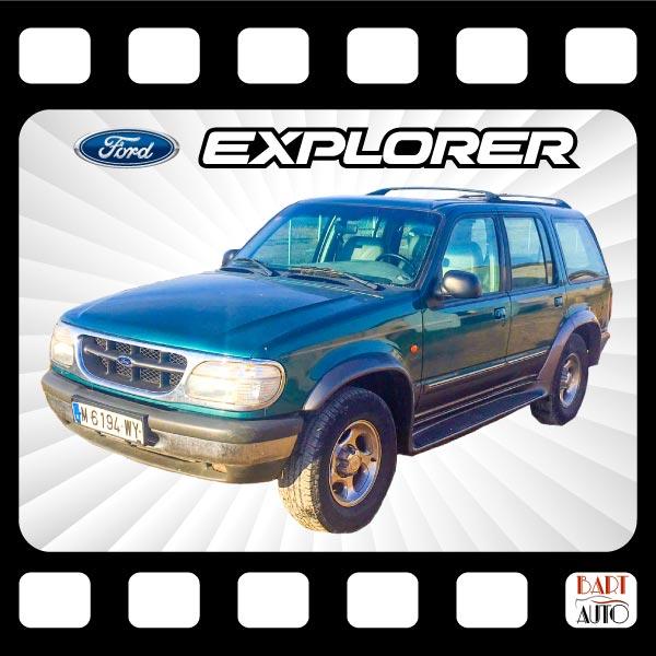 Ford Explorer para películas fotograma