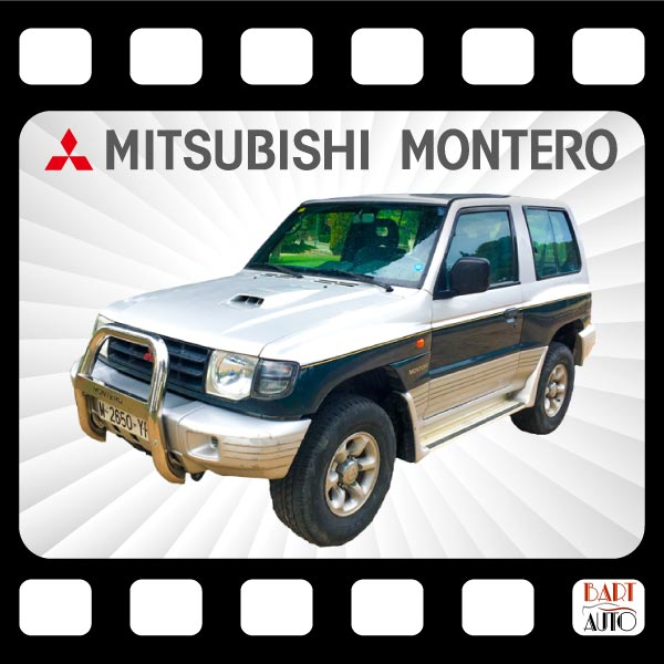 Mitsubishi Montero para películas fotograma