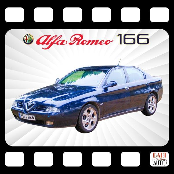 Alfa Romeo 166 para películas fotograma