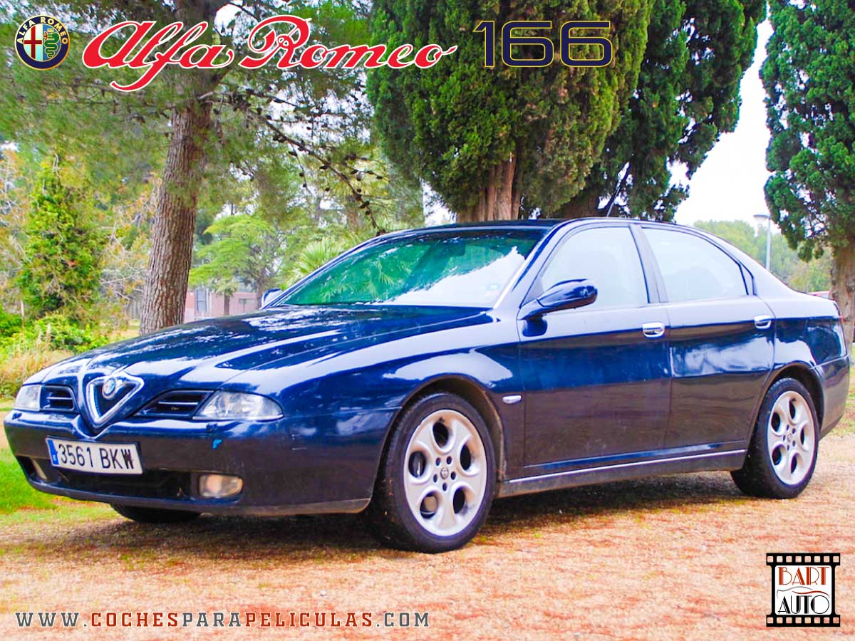 Alfa Romeo 166 para películas delantera