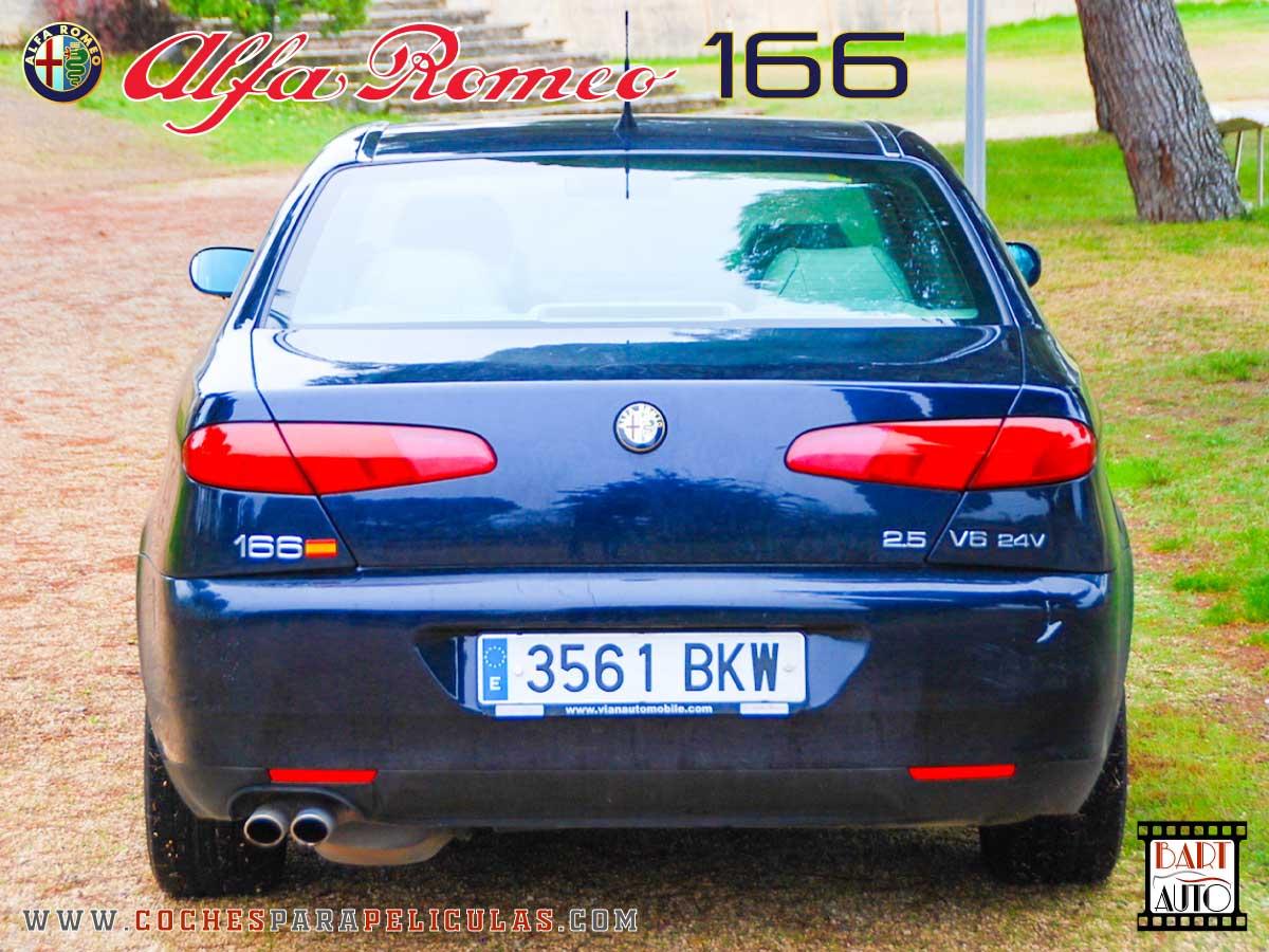 Alfa Romeo 166 para películas trasera