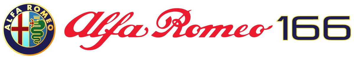 Alfa Romeo 166 para películas logotipo