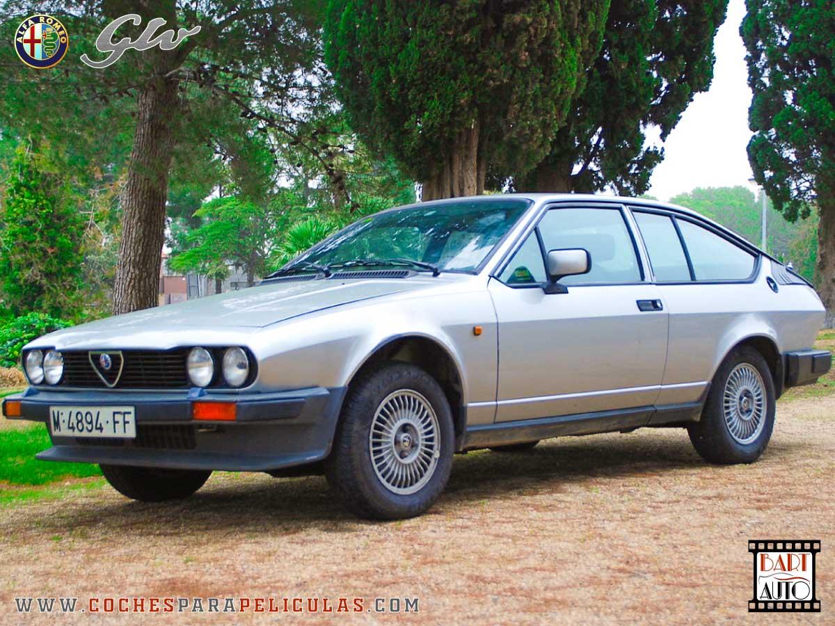 Alfa Romeo GTV para películas delantera