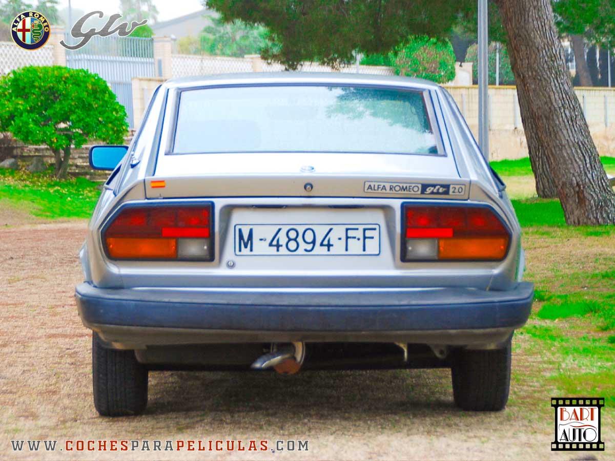 Alfa Romeo GTV para películas trasera