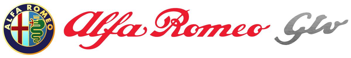 Alfa Romeo GTV para películas logotipo