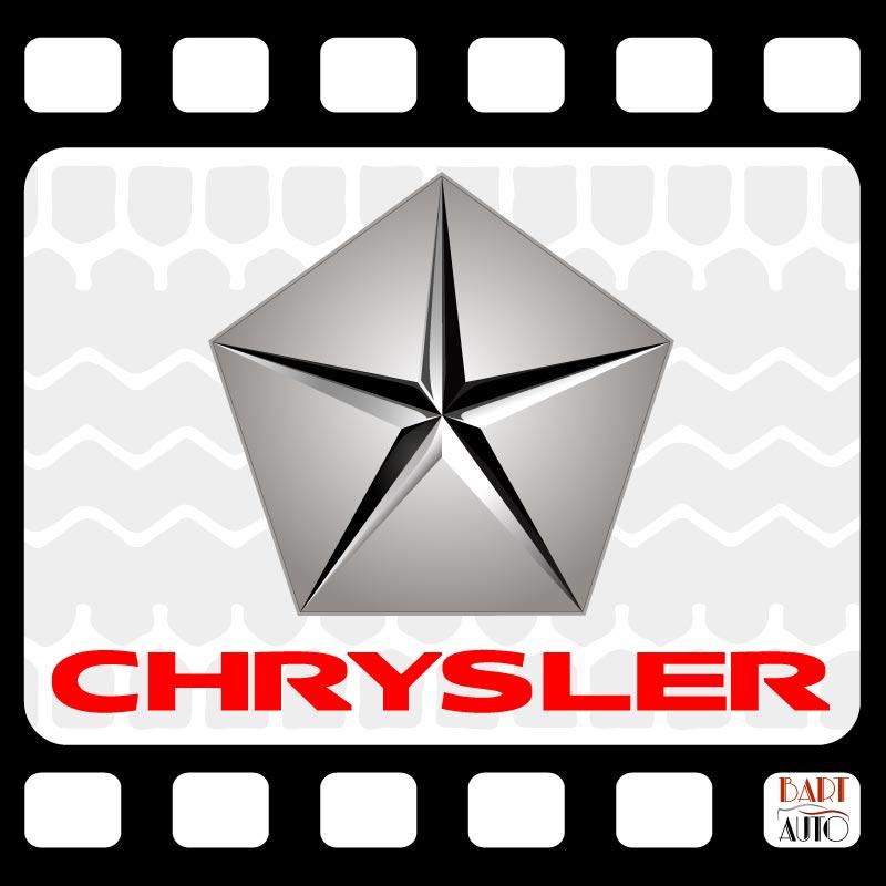 Vehículos de escena Chrysler logo