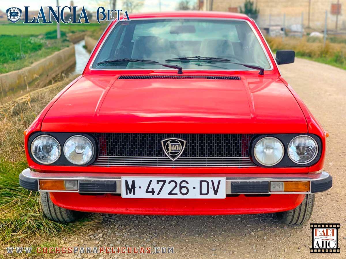 Alquiler de coches para rodajes Lancia Beta frontal