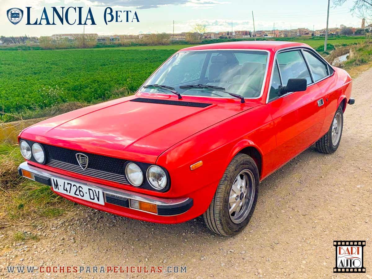 Alquiler de coches para rodajes Lancia Beta 2