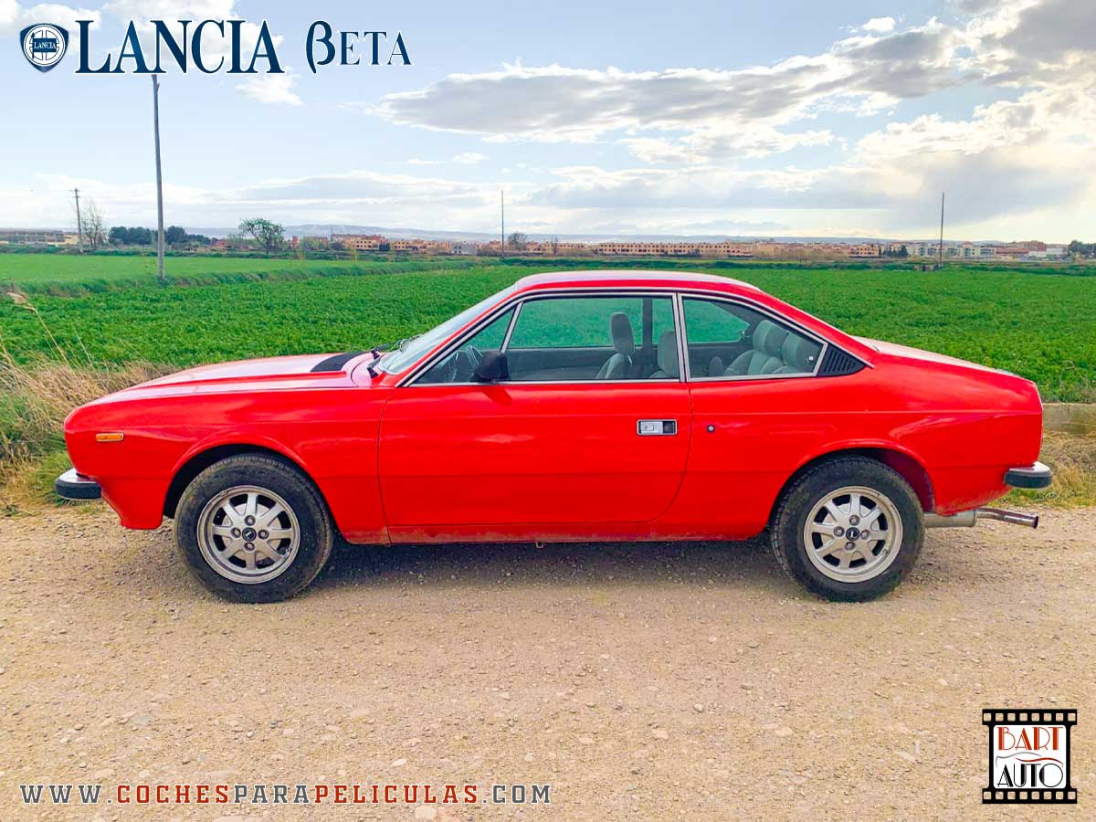 Alquiler de coches para rodajes Lancia Beta lateral
