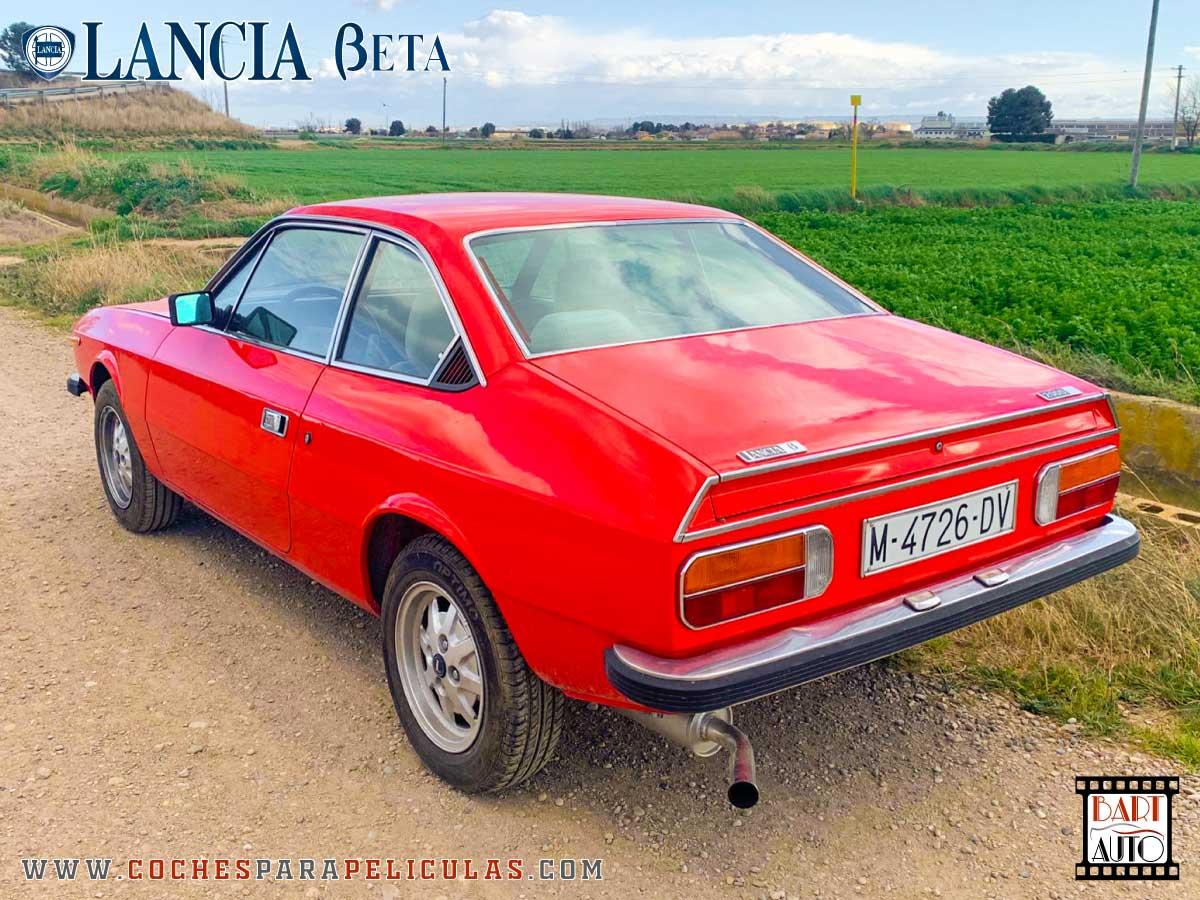 Alquiler de coches para rodajes Lancia Beta 1