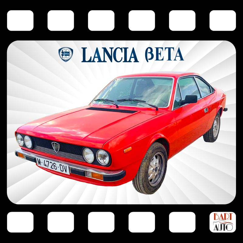 Alquiler de coches para rodajes Lancia Beta mosaico