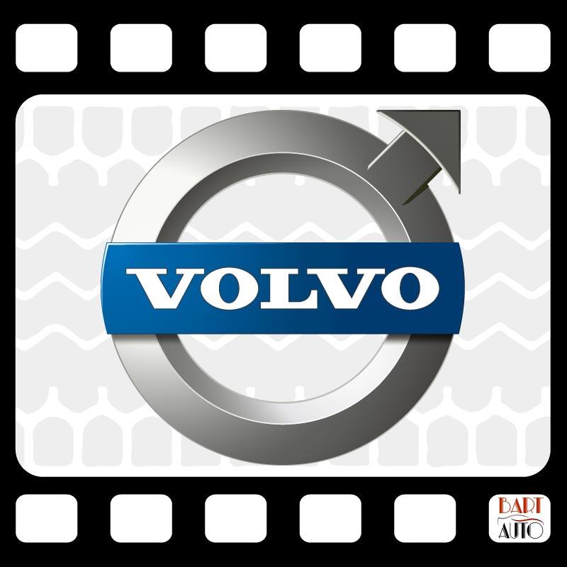 Vehículos de escena Volvo logo marca
