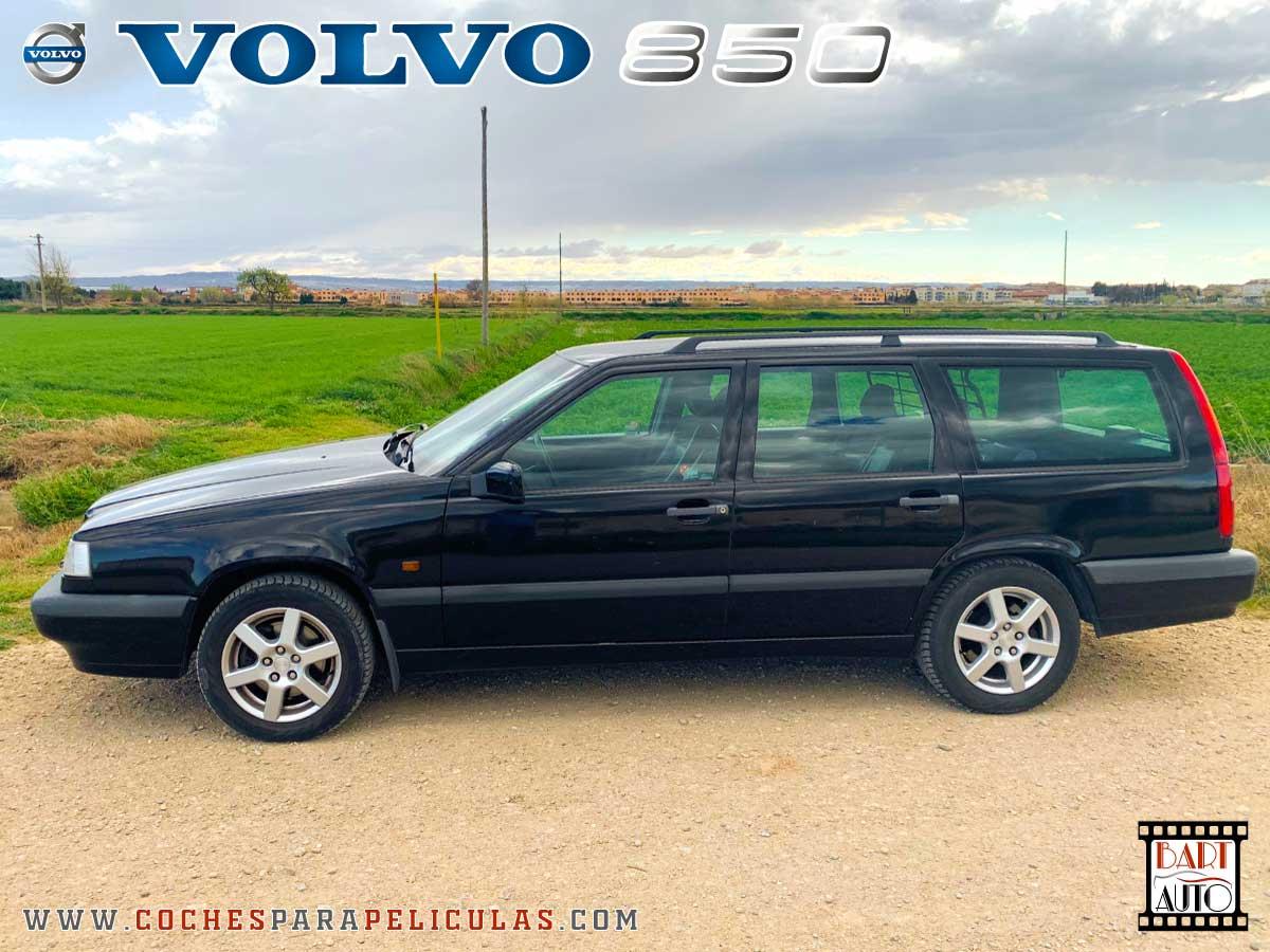 Alquiler de vehículos de escena Volvo 850 lateral