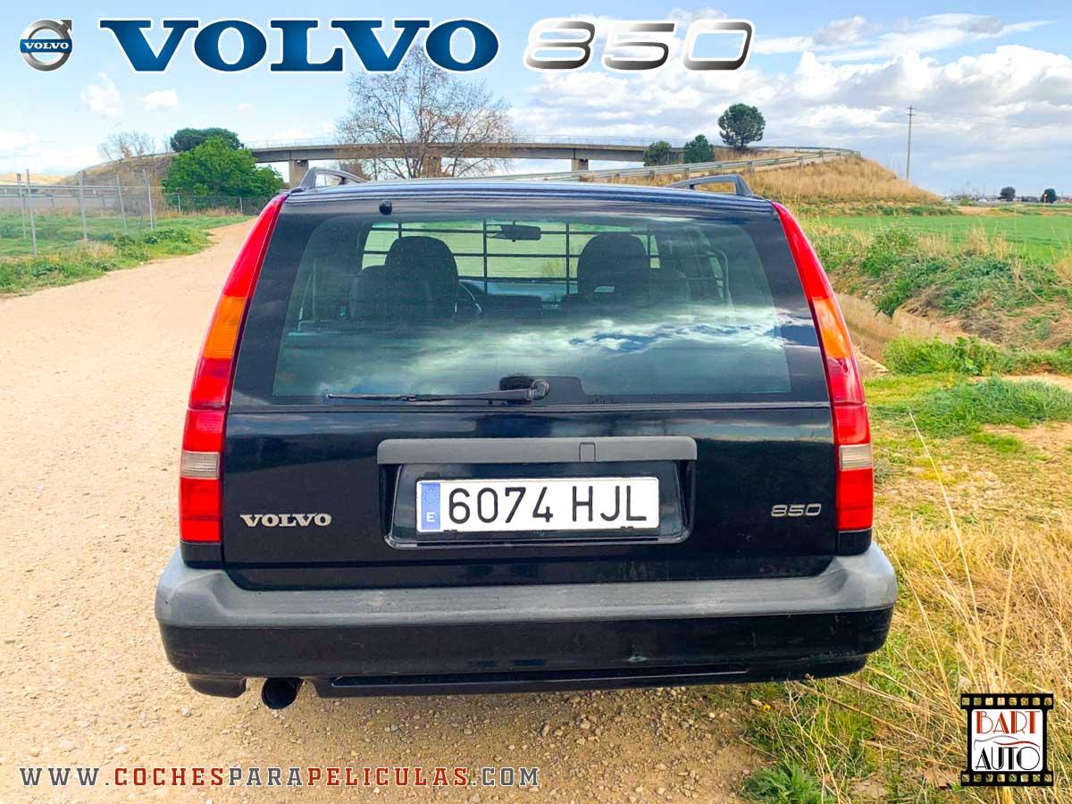 Alquiler de vehículos de escena Volvo 850 trasera