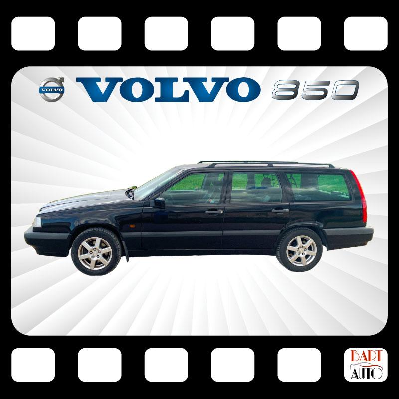 Alquiler de vehículos de escena Volvo 850 mosaico