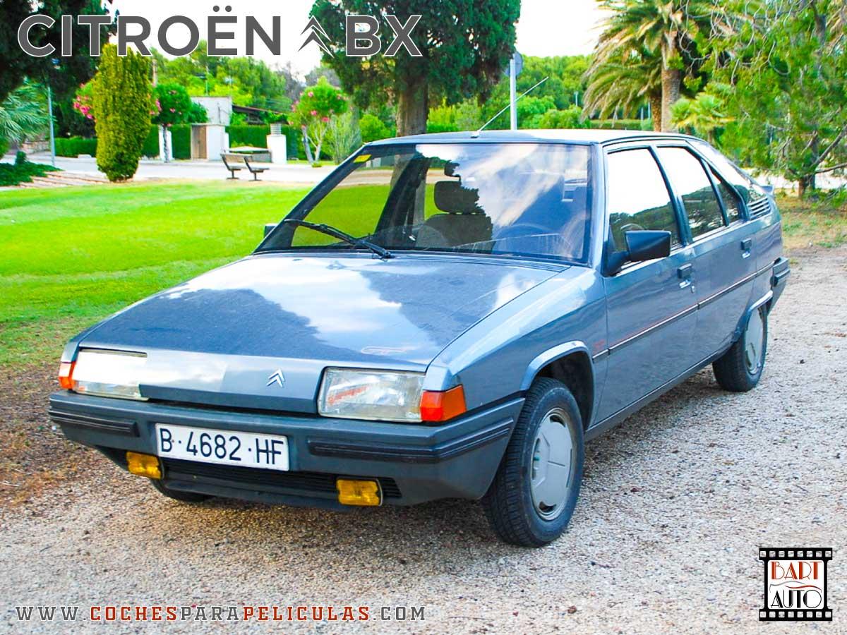 Citroën BX para películas delantera
