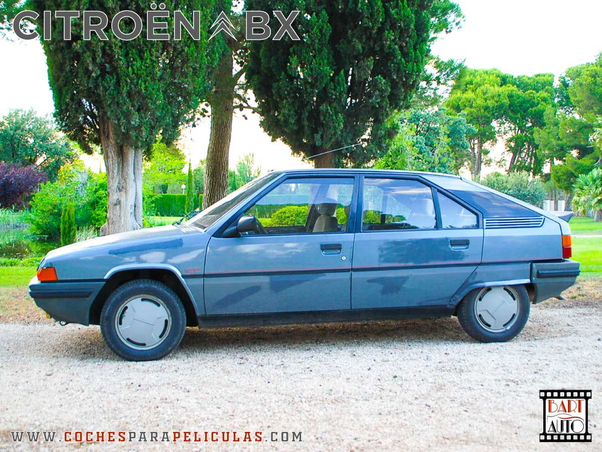 Citroën BX para películas lateral