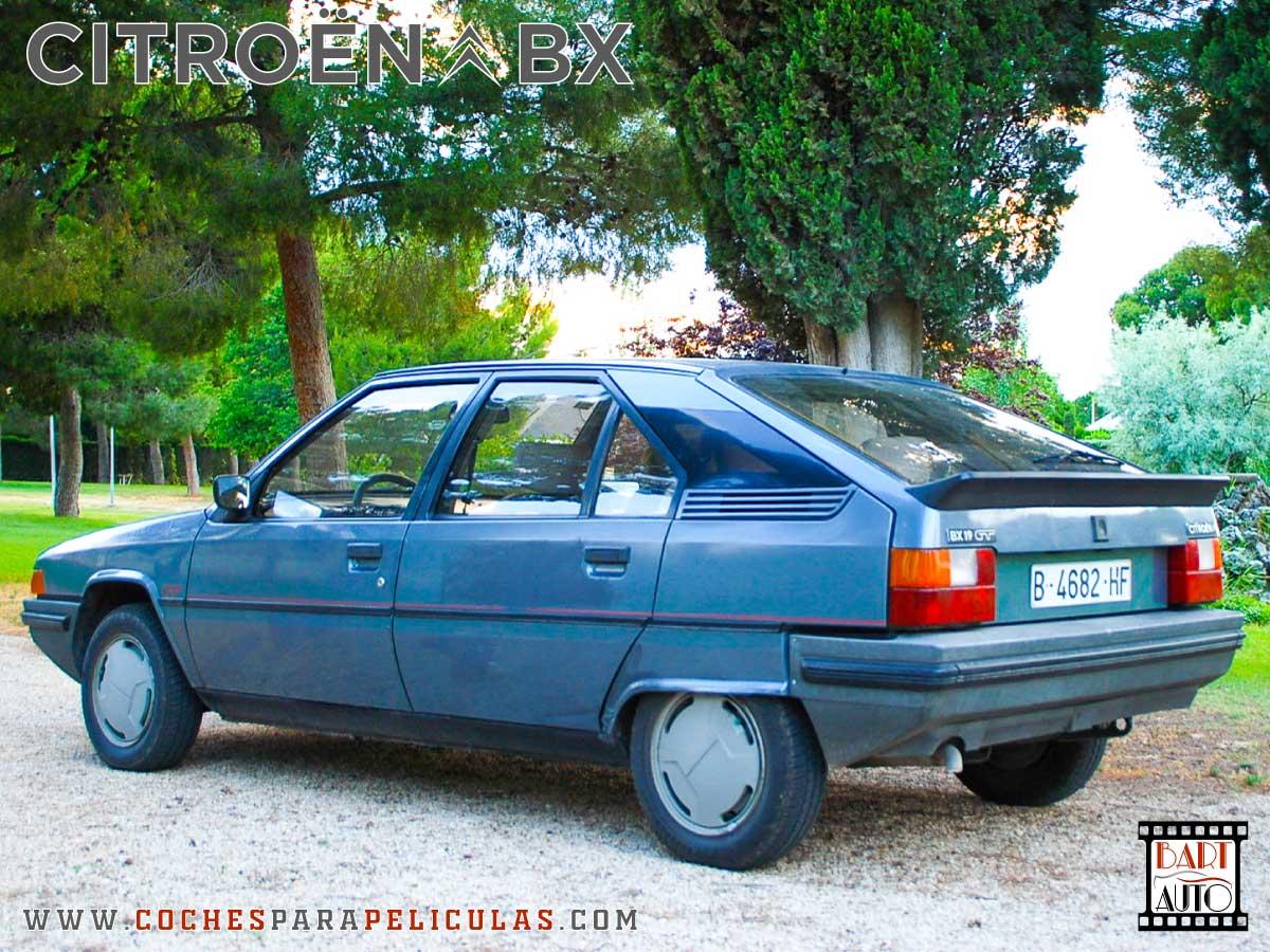 Citroën BX para películas trasera 1