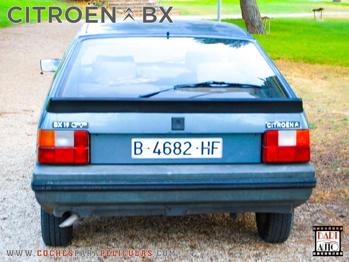 Citroën BX para películas trasera