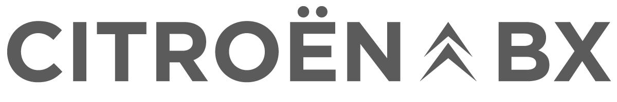 Citroën BX para películas logotipo