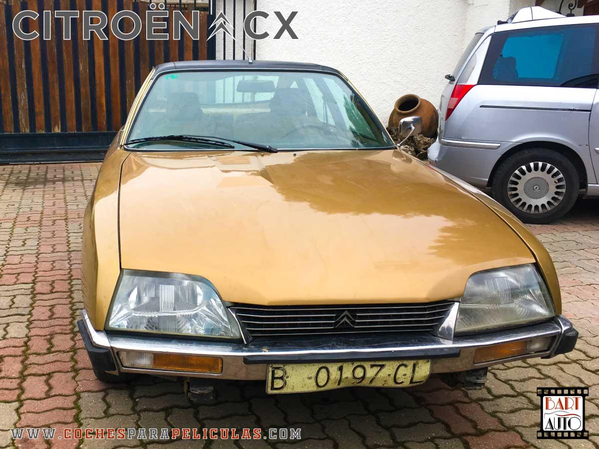 Citroën CX para películas delantera