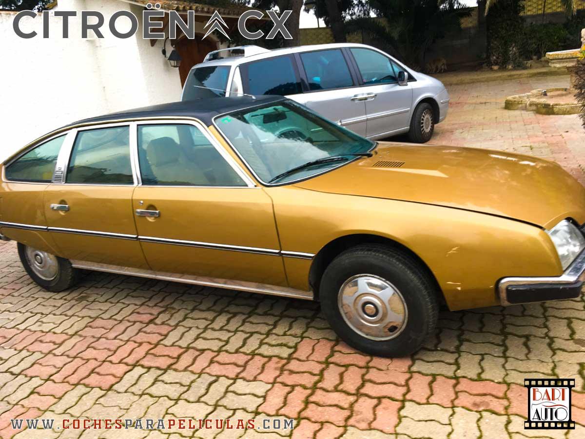 Citroën CX para películas lateral