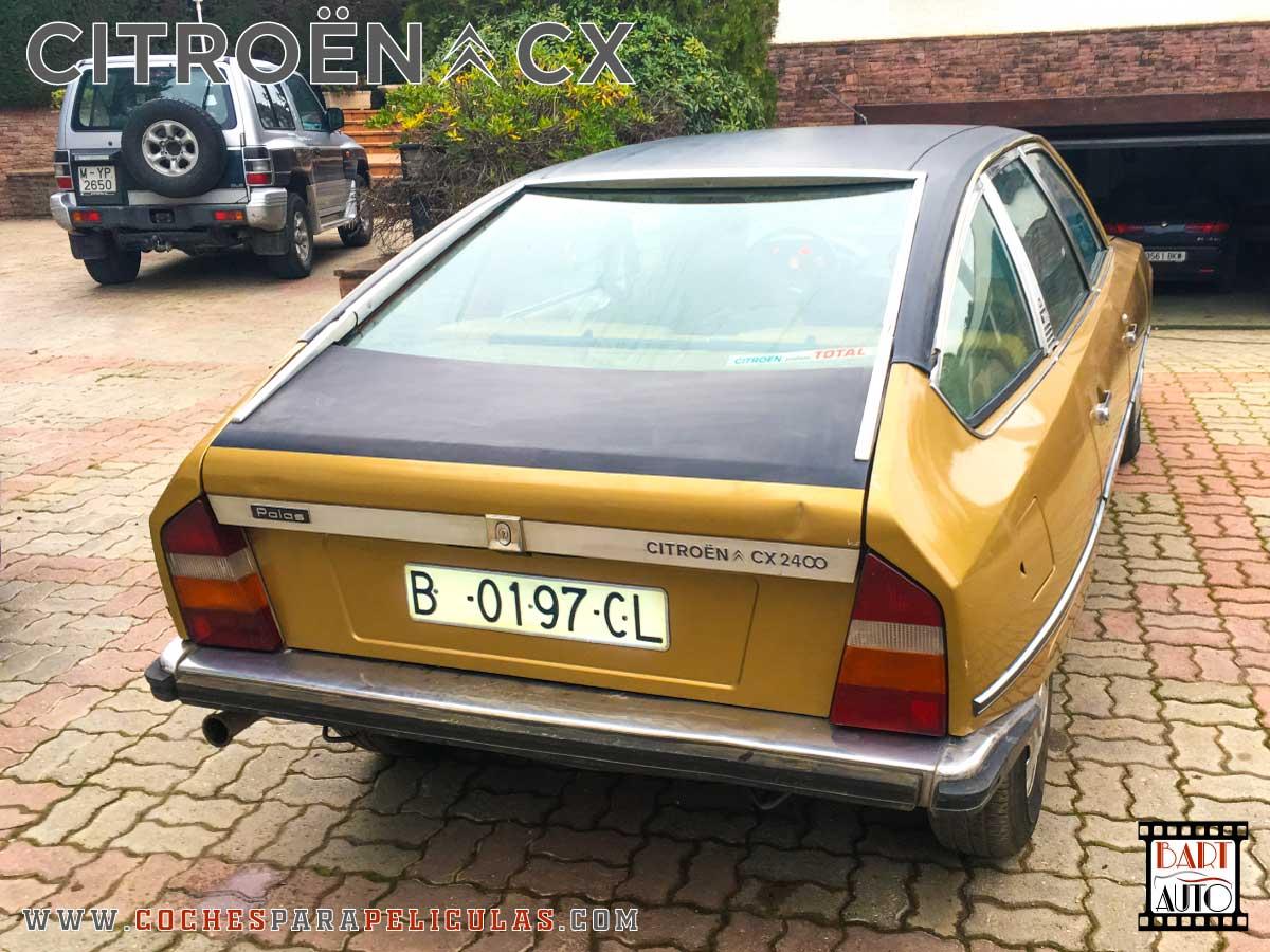 Citroën CX para películas trasera