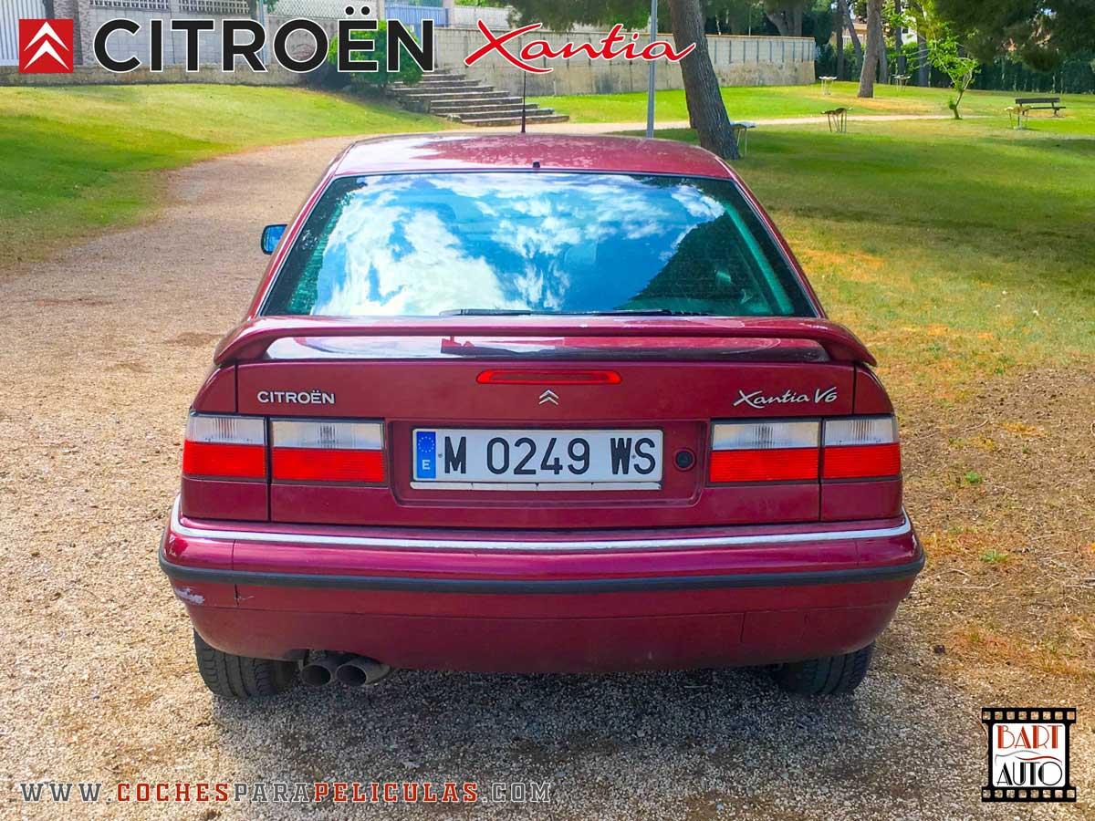 Citroën Xantia para películas trasera