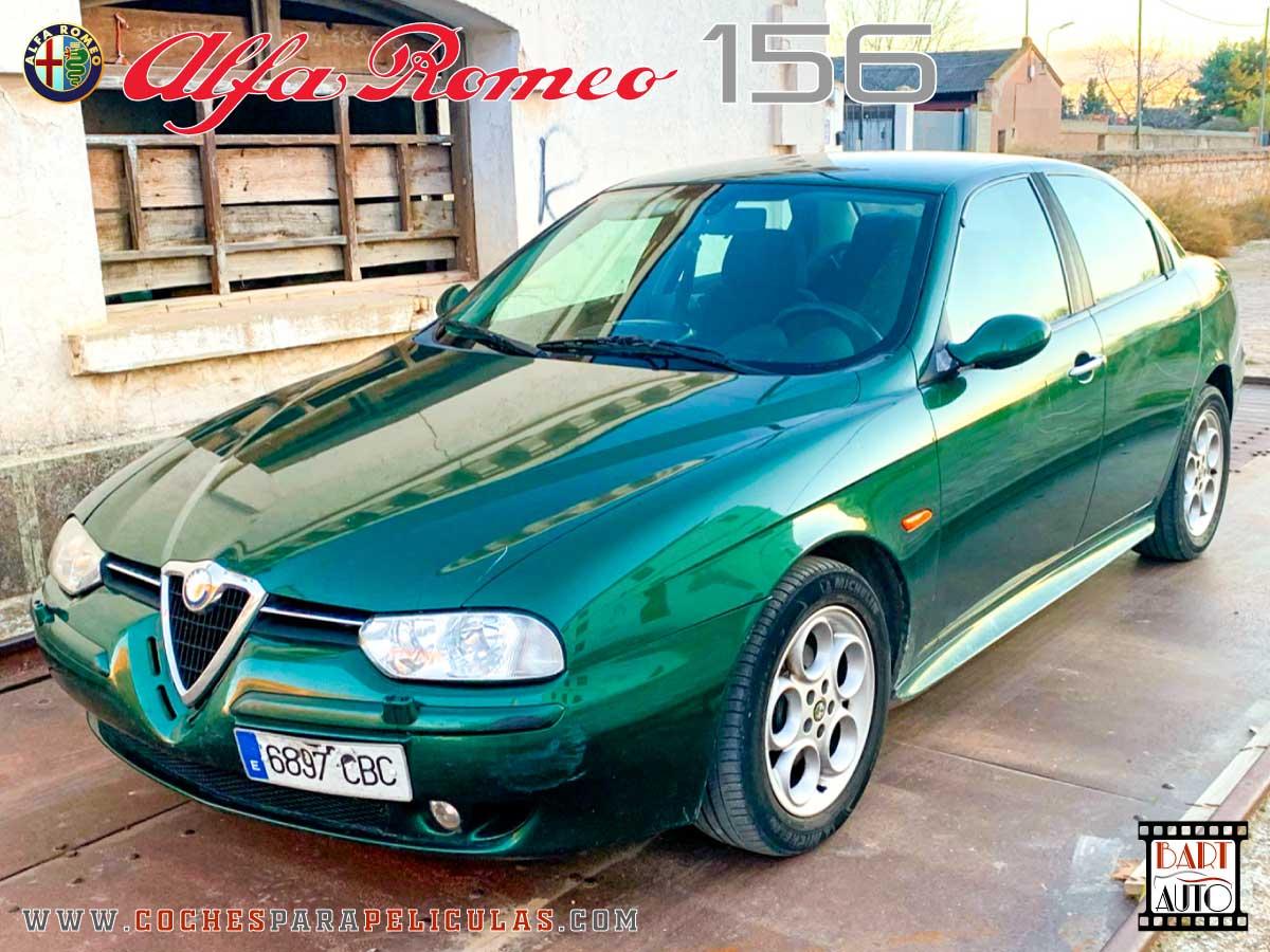 Coches de escena Alfa Romeo 156