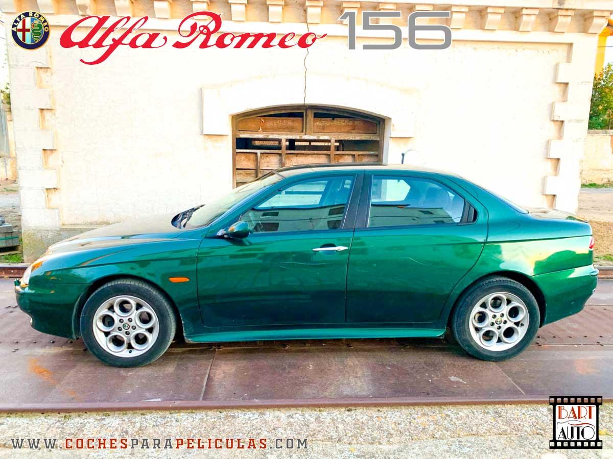 Coches de escena Alfa Romeo 156 lateral