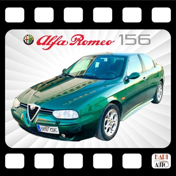 Coches de escena Alfa Romeo 156 portada
