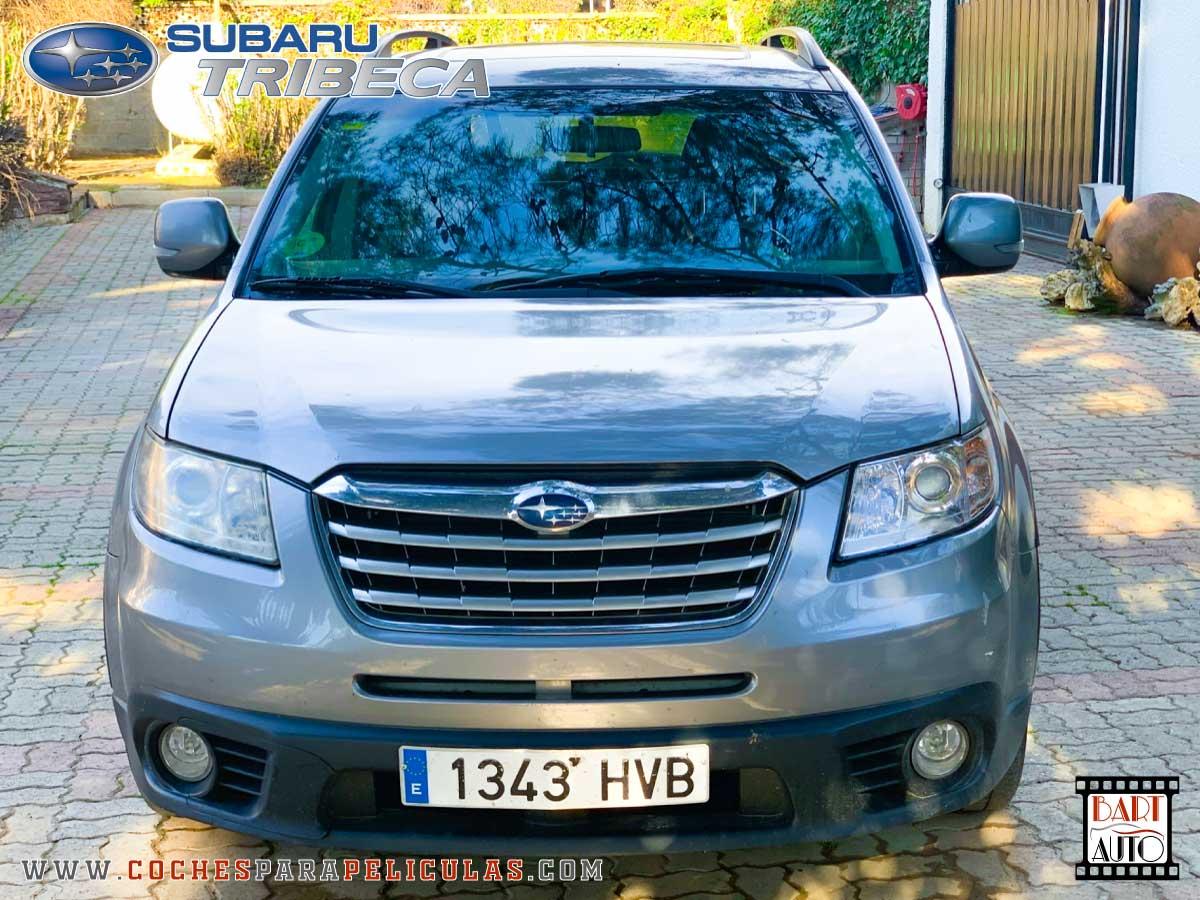 Coches de escena Subaru Tribeca frontal
