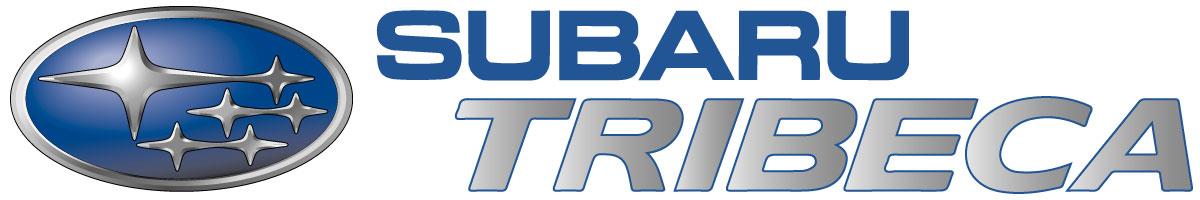 Coches de escena Subaru Tribeca logo