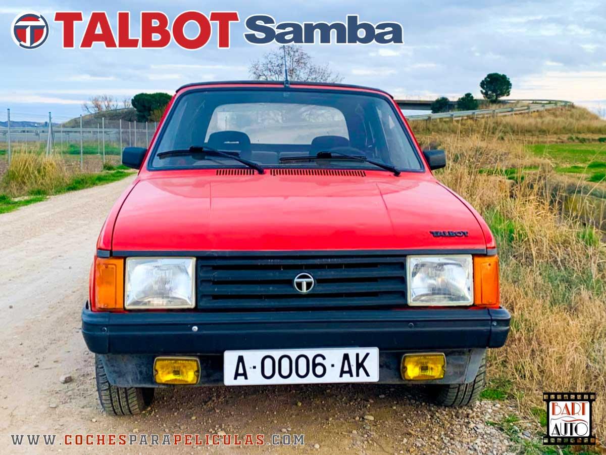 Coches de escena Talbot Samba frontal