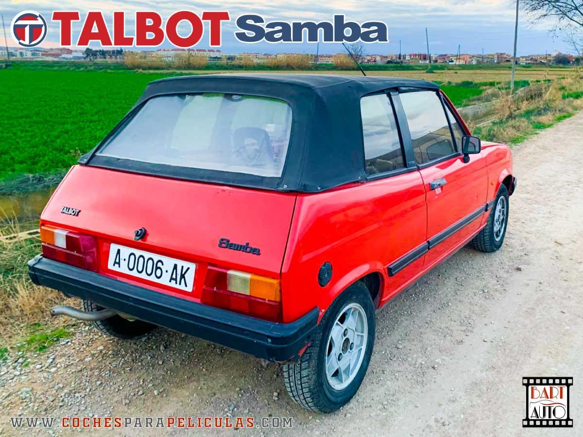 Coches de escena Talbot Samba esquina