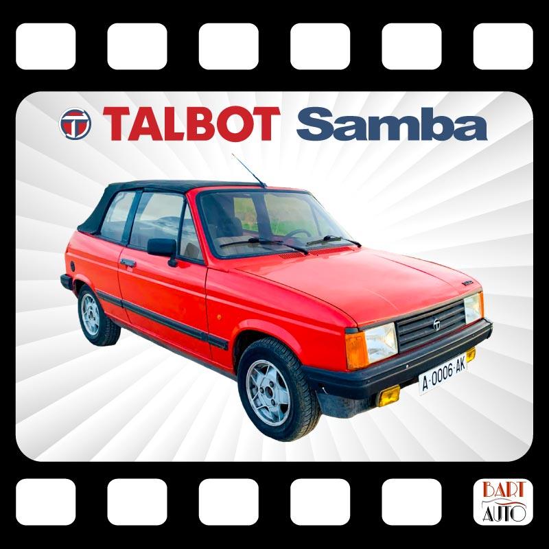 Coches de escena Talbot Samba