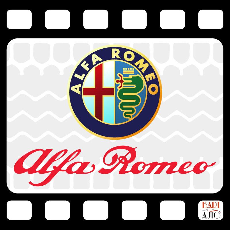 Vehículos de escena Alfa Romeo