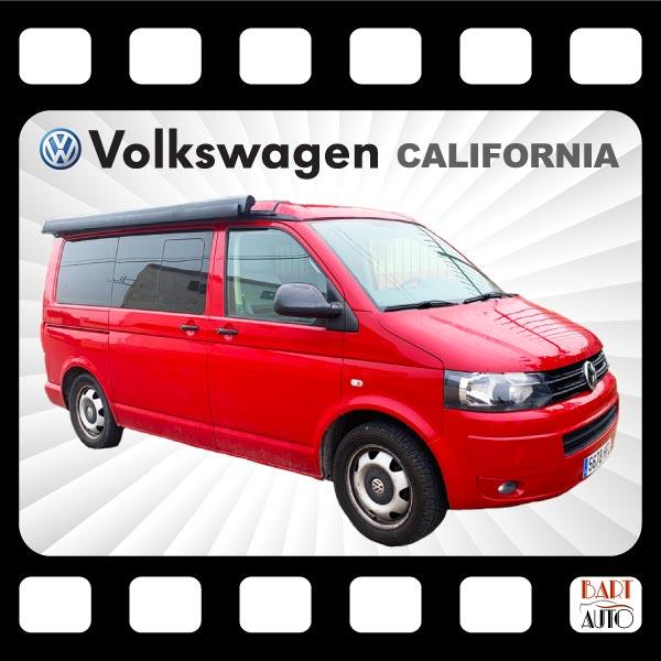 VolksWagen California para rodajes fotograma