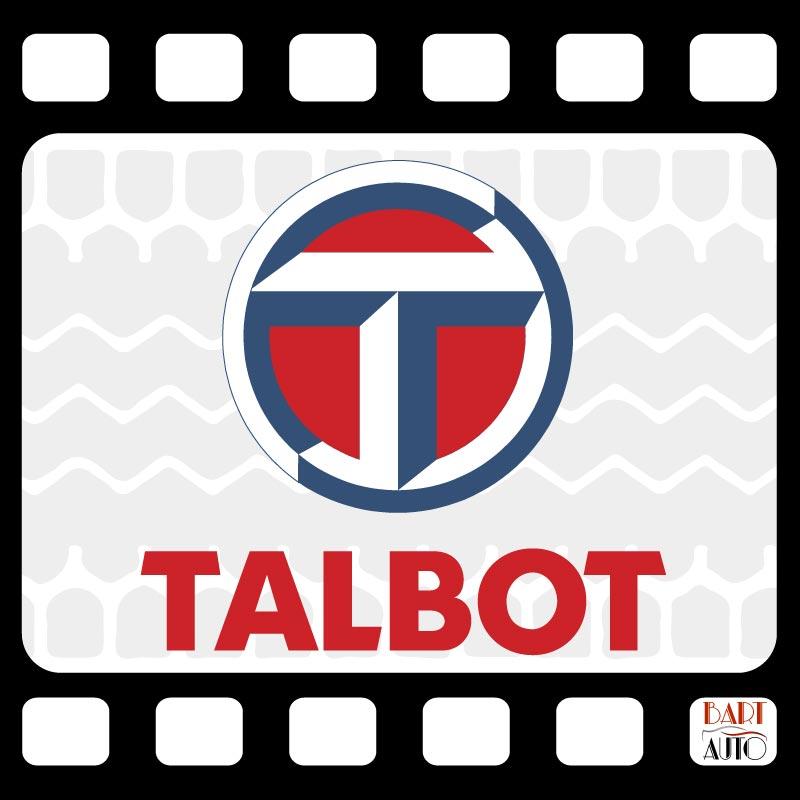 Vehículos de escena Talbot logo