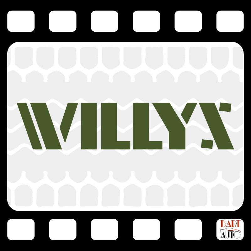 Vehículos de escena Willys