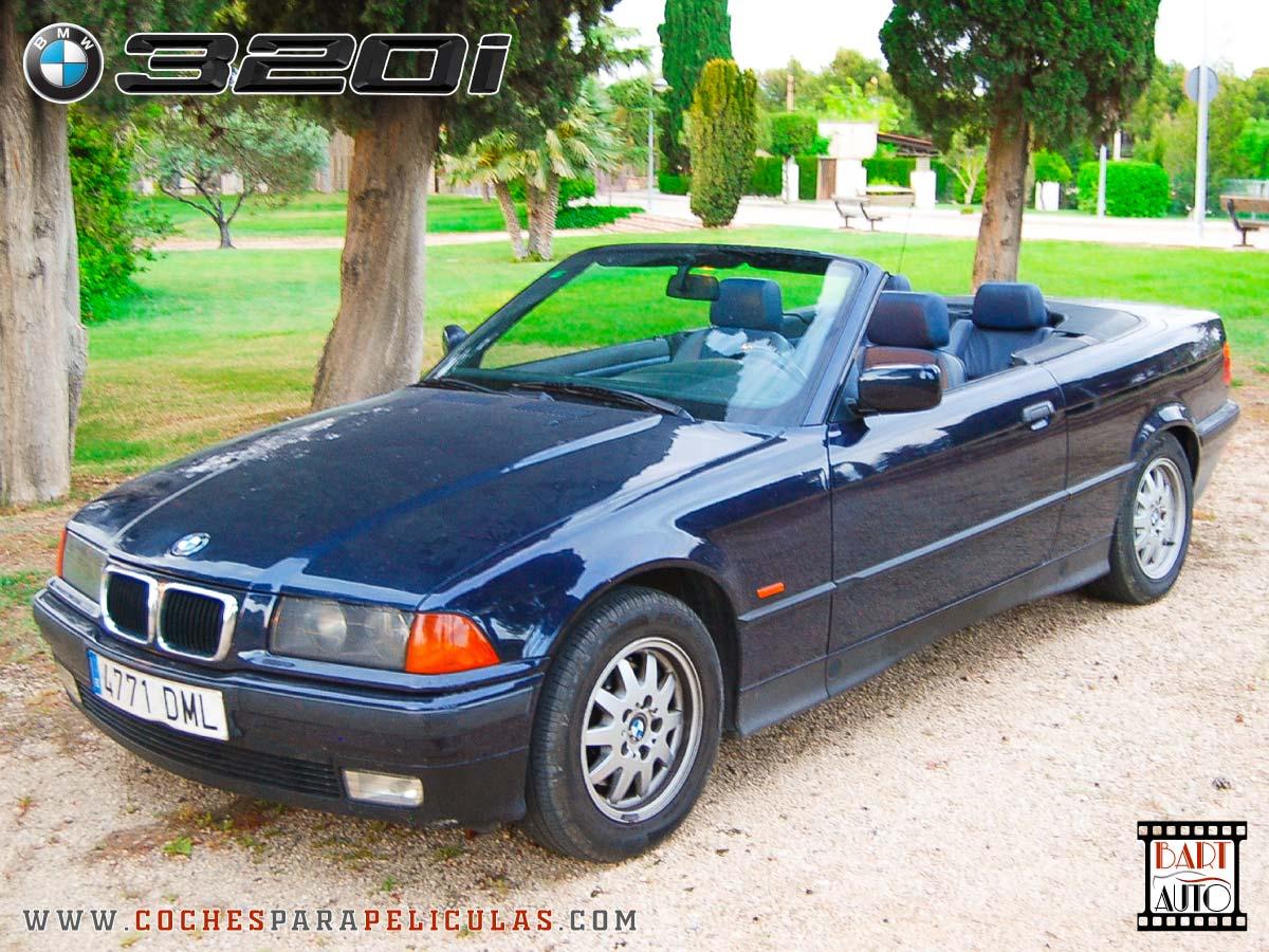 Coches para rodajes BMW 320 Cabrio foto