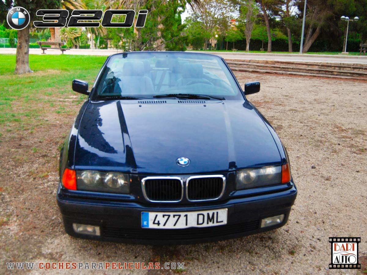 Coches para rodajes BMW 320 Cabrio frontal