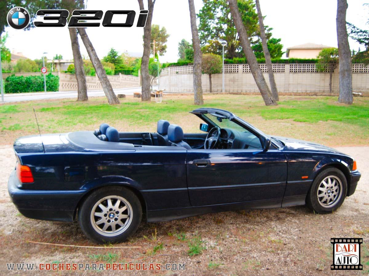 Coches para rodajes BMW 320 Cabrio lateral 1