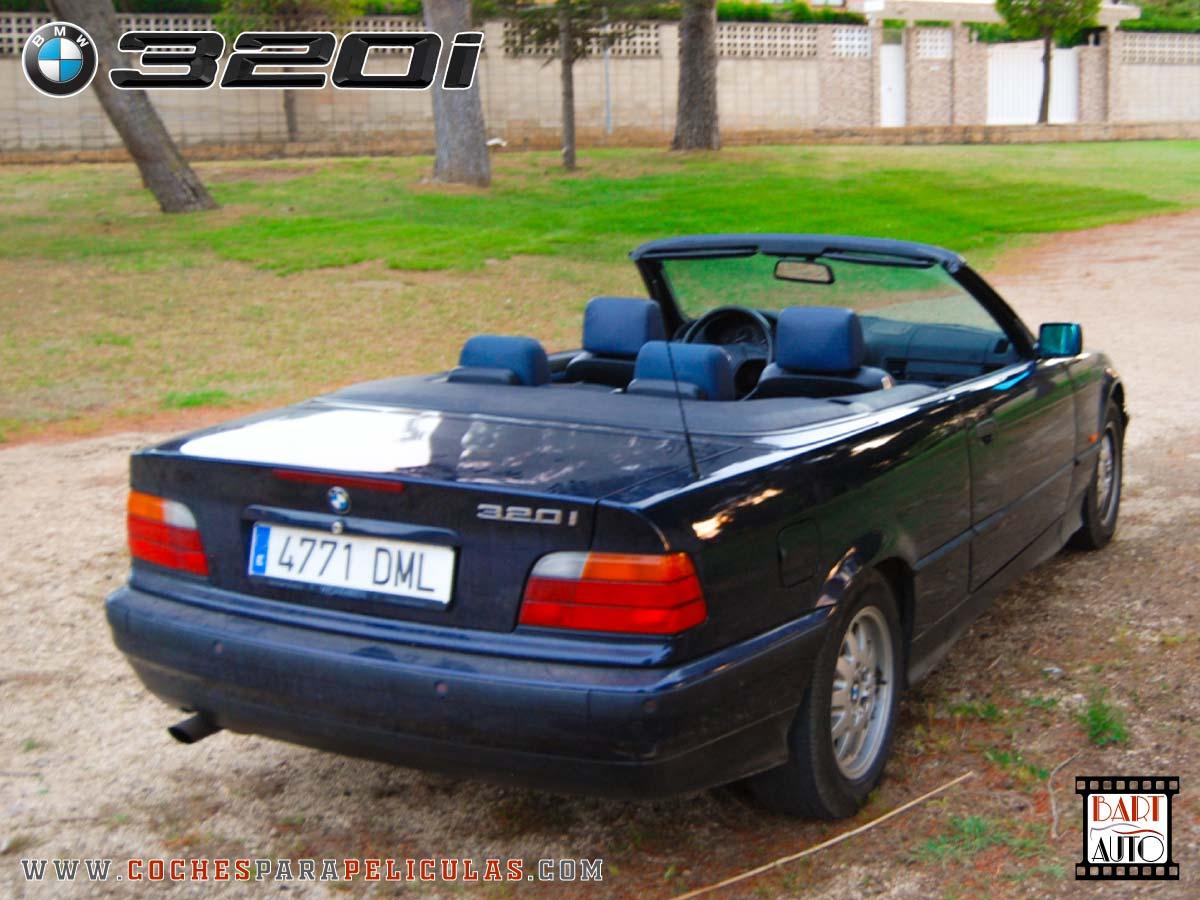Coches para rodajes BMW 320 Cabrio esquina