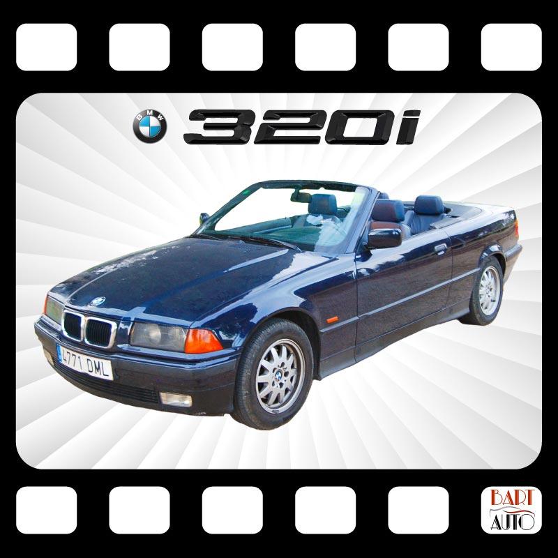 Coches para rodajes BMW 320 Cabrio portada