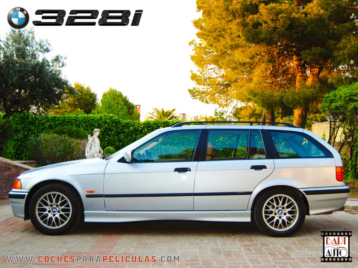 Coches para rodajes BMW 328 lateral