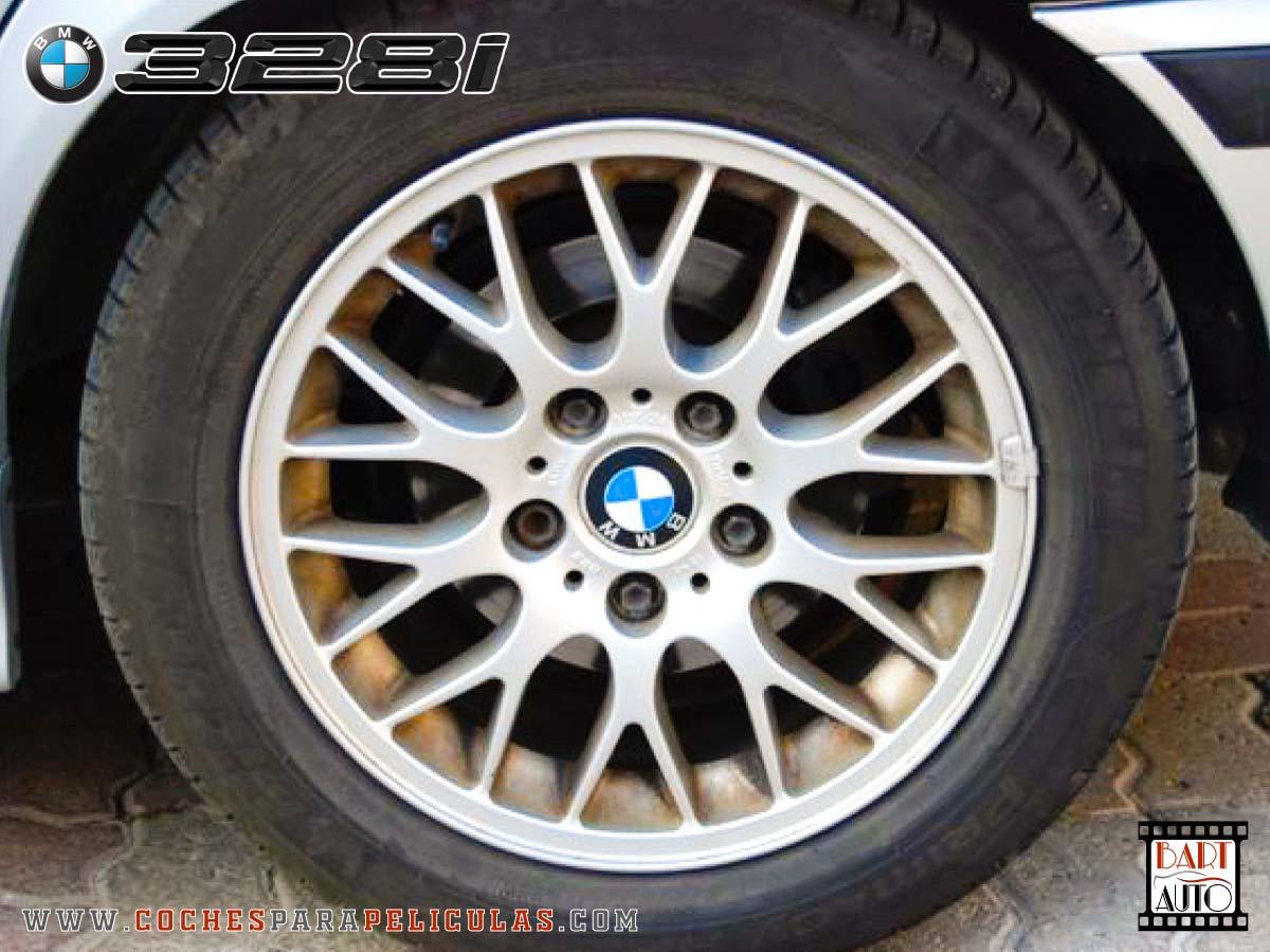 Coches para rodajes BMW 328 llanta